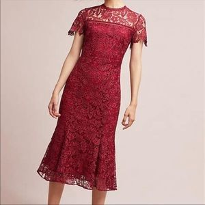 Anthropologie Lace Dress